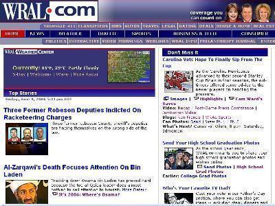 WRAL.com Homepage Image