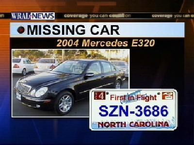 missing vehicle