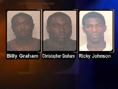 Three Suspects Linked To 16 Raleigh Robberies