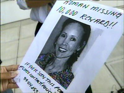 Cynthia Moreland Missing Poster