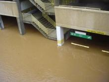 <I>Image from Carrie Edgerton</I> <BR /><BR />Crabtree Mall parking garage