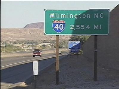 I-40 Sign