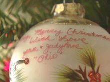 Clay Aiken Shows Off Ornaments from Fans