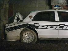 Durham Officer Injured in Car Crash