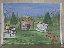 Moore's Square Nativity