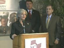 N.C. Military Foundation Press Conference