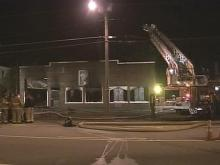 Blaze Damages Vacant Church In Fayetteville