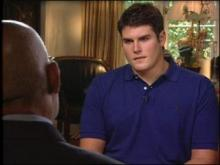 """""""We were told told that if we cooperated, those that were innocent would be shown to be innocent. ... It didn't play out that way,"""" says Reade Seligmann during a CBS """"60 Minutes"""" interview on submitting DNA samples."""