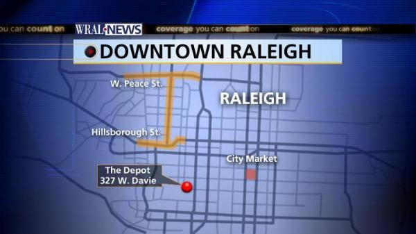 Downtown Raleigh Depot Map :: WRAL.com