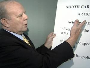 Gene Boyce is suing the state of North Carolina, saying leaders violated state law in 2001 when they used $80 million form the Highway Trust Fund to balance  a recession-strained general fund.