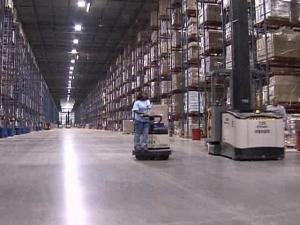 It's a Very Big Time of Year at QVC's Very Big Warehouse