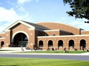 The new 109,020-foot John W. Pope Jr. Convocation Center will house a 3,000-seat arena, practice gymnasium, basketball offices, locker rooms and a 5,000 square-foot student fitness center.