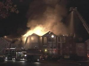 Fire Damages Cary Apartment Complex
