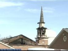 An arrest has been made in connection with a series of church fires and break-ins in Greenville.