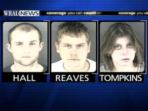 3 Charged in Fayetteville Theft Ring