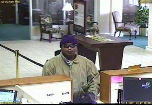 Durham Bank Robbery Suspect