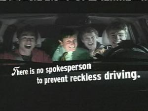 Highway Safety Ad Targets Teens