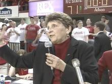 NC State Roars Support for Returning Coach Kay Yow