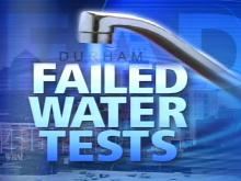 Durham Water Failed Lead Tests