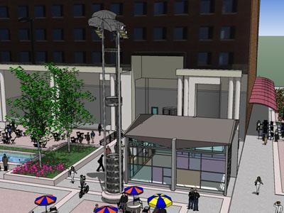 Fayetteville Street Mall Plan Taking Shape