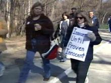 Citizens March in Support of Accused Duke Lacrosse Players