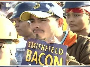 Smithfield Plant Workers Walk Out