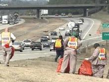 Roadside Battle Against Trash Is Barely a Holding Action