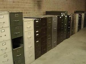 Buyer Was Supposed to Get File Cabinet--but Not the Files