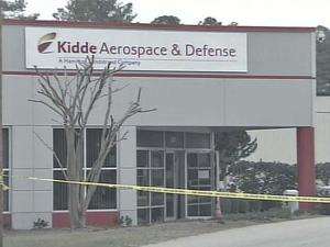 Two men were found dead Saturday at Kidde Aerospace and Defense Building in Wilson. Authorities believe the men died from carbon monoxide poisoning.