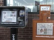 Extra! Extra! Thieves Nab Newspaper Boxes