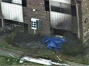 Firefighters found three bodies while battling a blaze at the Pines of Ashton apartment complex in Raleigh.