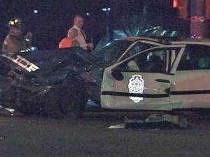 Raleigh Officer Injured in Crash Near RBC Center