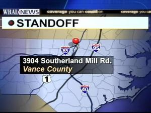 Vance Authorities in Standoff With Armed Man