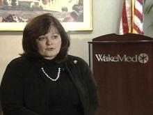 Deborah G. Friberg of WakeMed says there does not appear to a resolution in sight of a rate disagreement with UnitedHealthcare