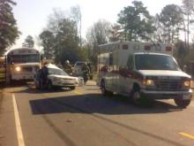 A school activity bus was involved in an accident in Four Oaks.