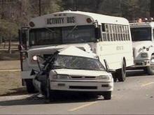 Activity Bus, Sedan Collide in Fatal Johnston Accident