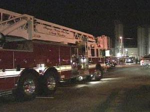 Crews Battle Blaze at Fuquay-Varina Plant