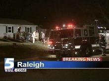 Fire Breaks Out At Raleigh Triplex
