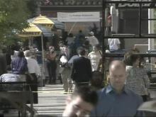 Raleigh Mayor Puts Best Foot Forward in Walking Campaign