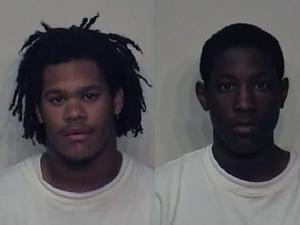 L-R: Marquis Daletwand Elkerson, 17, and Jaquan Maurice Wiggs, 16