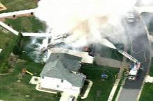 House Fire in Brier Creek
