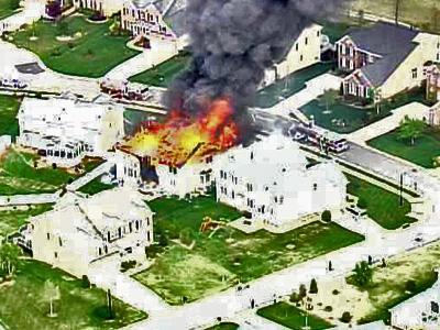 Blaze Consumes Raleigh Home