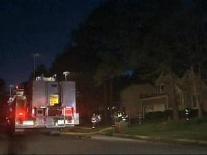 Several fire crews were at the scene of a working house fire off of Roxboro Street in Durham Thursday evening.