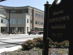 Supporters of a proposed river walk in Smithfield say it would boost business, but some state officials are already raising concerns.