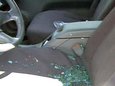 Vandals broke out windows and stole items out of several cars parked at Fayetteville apartment complexes Tuesday morning.
