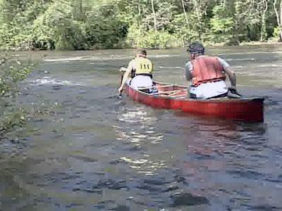 Rob and Nathanial Prokop treasure their time paddling up and down the Neuse River, but Rob worries that future generations won't have the same opportunity.