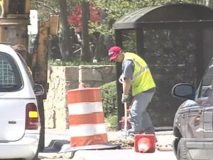Workers will need about three months longer than planned to finish Durham's downtown streetscape project, officials said on Monday, April 23, 2007.