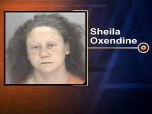 Sheila Oxendine are charged with first-degree murder after her boyfriend died from extensive burns he suffered in a domestic dispute.