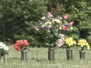 Metal vases and headstones have become a target for thieves who police believe want to sell the metal.