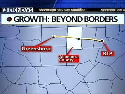 Growth on Fast Track in Alamance County